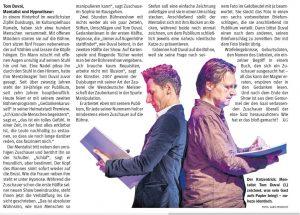 Tom Duval Pressebericht Duisburg